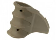 Bravo Airsoft Polymer Magazine Well Grip in (TAN)