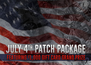 4th of July Freedom Patch Package feat $1000 GI Gift Certificate