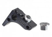 Speed Airsoft KeyMod Front Stop Flat (Black)