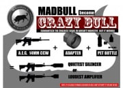Madbull Airsoft 14mm Negative Noise Maker Adapter (CCW)