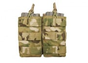 Condor Outdoor MOLLE Dual Open Top M4/M16 Magazine Pouch (Multicam)