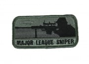MM Major League Sniper Velcro Patch (Dark ACU)