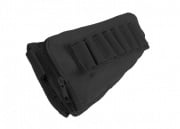Modify Rifle Stock Ammo Pouch with Leather Cheek Pad (Black)