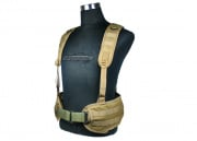Condor Outdoor MOLLE H Harness ( Tan )