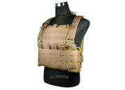 King Arms MPS Combat Chest Armor ( TAN / Tactical Vest )