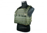 King Arms MPS Combat Chest Armor (OD/Tactical Vest)