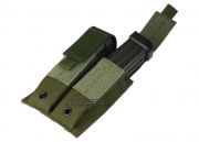 (Discontinued) HSS Pistol Magazine Dual Molle Pouch (OD)