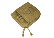 Condor Outdoor MOLLE Map Pouch (Tan)