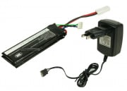 (Discontinued) SRC 11.1v 1000 mAh LiPo Tri-Panel Battery Package (Battery, Charger & Liposack)