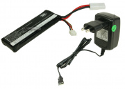 * Discontinued * SRC 11.1v 1000mAh LiPo Battery Package (Battery, Charger & Liposack)