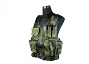 Tactical Crossdraw Vest (Woodland)