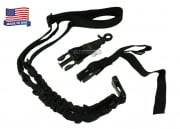 Condor Outdoor Double Bungee One Point Sling (Black)
