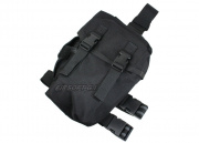 (Discontinued) HSS Large Utility Thigh Rig (Black)