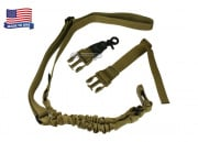 Condor Outdoor Double Bungee One Point Sling (Tan)