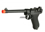 WE P08M Luger Pistol GBB Airsoft Pistol (Black)
