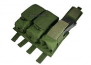 (Discontinued) HSS 5.56 Magazine Triple Molle Pouch (OD)