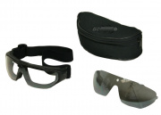 P Force Goggles Set (Smoke)