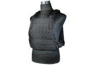 (Discontinued) HSS Plate Carrier Tactical Vest (Black)