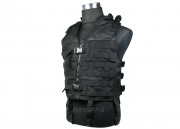 (Discontinued) HSS Molle Tactical Vest (Black)