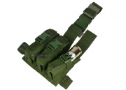 HSS Triple 40mm Grenade Thigh Rig (OD)