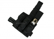 HSS Triple 40mm Grenade Thigh Rig (Black)
