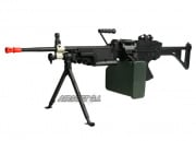 A&K Full Metal M249 MK1 AEG Airsoft Gun (No Carrying Case)