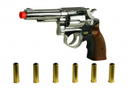 *Discontinued* HFC 131 REVOLVER Airsoft Gun (Chrome)