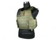 J-Tech Aegis-II Plate Carrier Tactical Vest  (OD/Medium)