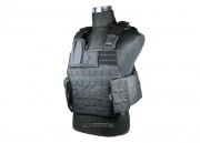 J-Tech Aegis-II Plate Carrier Tactical Vest (Black/Medium)