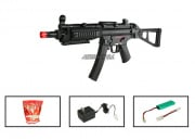 (Discontinued) G&G Full Metal PM5-A5 AEG Airsoft Gun (Battery/BBs/Charger Package)