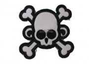Mil-Spec Monkey Monkey Skull & Cross Bone Velcro Patch (SWAT)