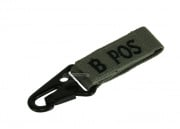 Condor Outdoor B Positive Blood Type Key Chain (Foliage)