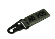 Condor Outdoor AB Positive Blood Type Key Chain ( Foliage )