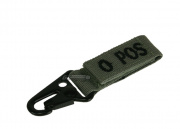 Condor Outdoor O Positive Blood Type Key Chain (Foliage)