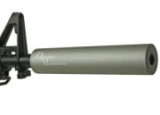 "Madbull ""Quick Silver"" Barrel Extension ( Matted Silver )"