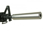 "Madbull ""Quick Silver"" Barrel Extension (Silver)"