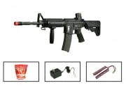 (Discontinued) G&G Full Metal GR-16 R4 Commando Airsoft Gun (Battery/BBs/Charger Package/M4-RIS SEAL)