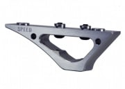 Speed Airsoft KeyMod Curve Foregrip (Silver)