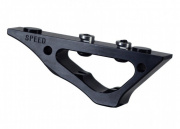 Speed Airsoft KeyMod Twin Curve Foregrip (Black)
