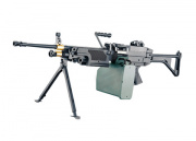 A&K Full Metal M249 MK1 AEG Airsoft Gun with Box Magazine