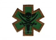 MM Tactical Medic Pirate Patch (OD)