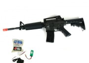 (Discontinued) TSD Tactical Gen II. Full Metal M4-A1 Airsoft Gun (Battery/BBs/Charger Package)