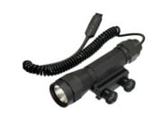 UTG Deluxe Flashlight with Integral Mount