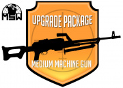 Airsoft GI Milsim Support Gunner (MSW MMG) Upgrade Package