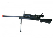 UTG Full Metal Gen. 5 M324S Pro Bolt Action Sniper Rifle Airsoft Gun ( Black )