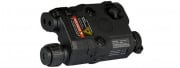 Tac 9 Industries PEQ-15 L.E.D. White Light + Red Laser w/IR Lens (Black)
