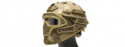 WoSporT Tactical G4 System BUMP Helmet & Mask w/ Goggles (Lander)