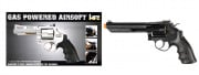 "HFC Savaging Bull 6"" Revolver Gas Airsoft Gun (Black)"