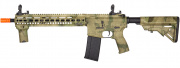 Lancer Tactical SMR Bravo Black Jack MK4 M4 Carbine AEG Airsoft Gun OEM by Dytac  (A-TACS FG)
