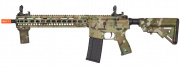 Lancer Tactical SMR Bravo Black Jack MK4 M4 Carbine AEG Airsoft Gun OEM by Dytac (Camo)